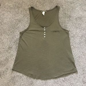 Army Green H&M Tank Top